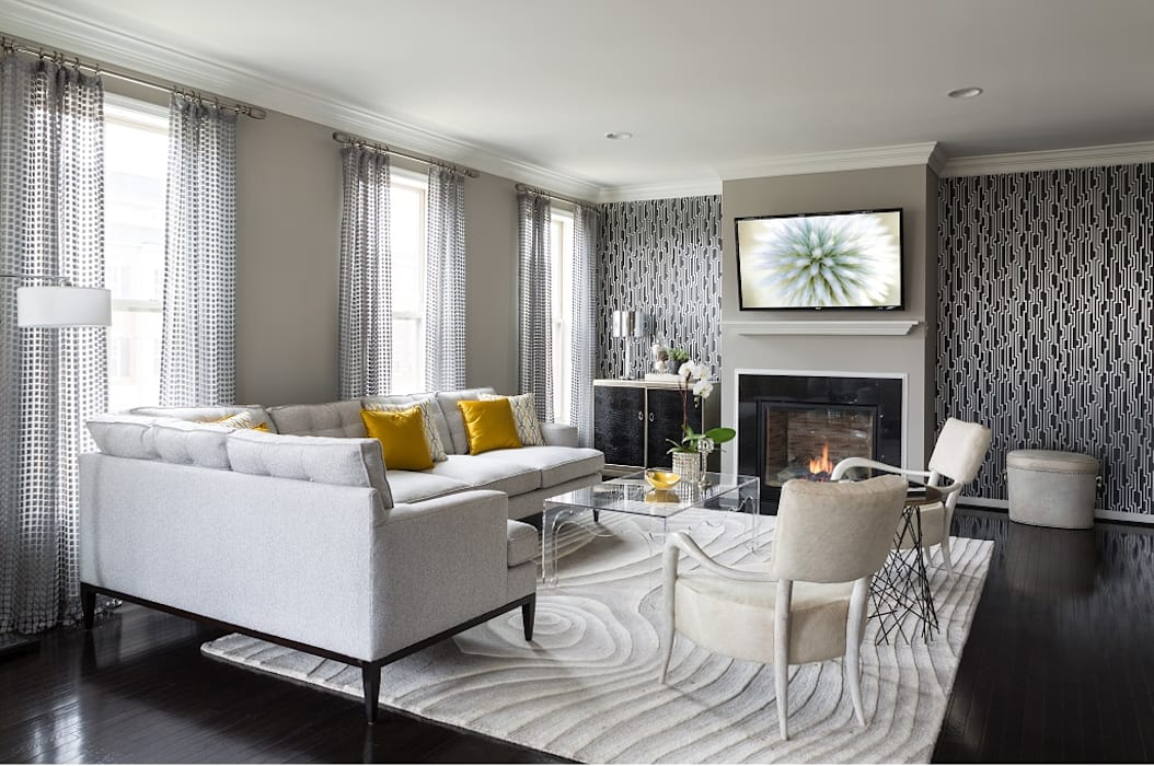 Viva Vogue - Living Room Modern Living Room by Lorna Gross Interior Design Modern