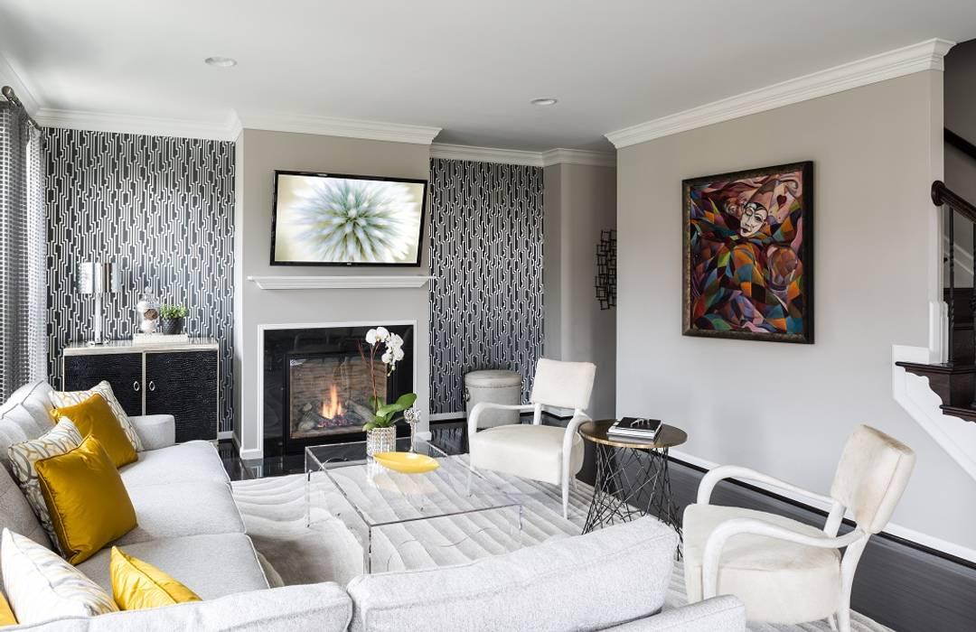 Viva Vogue - Living Room Modern Living Room by Lorna Gross Interior Design Modern