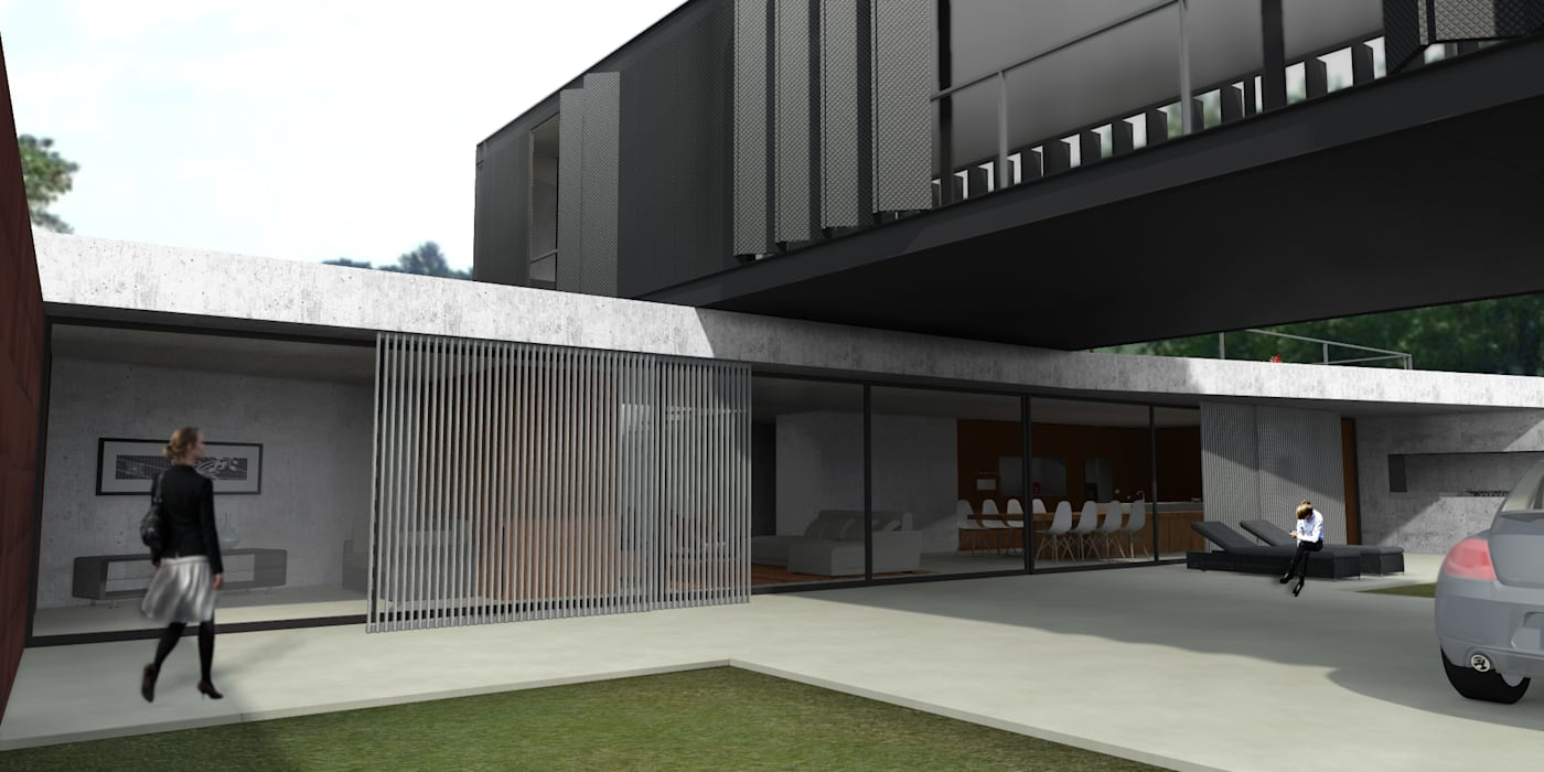 CCMP Arquitectura Minimalist houses