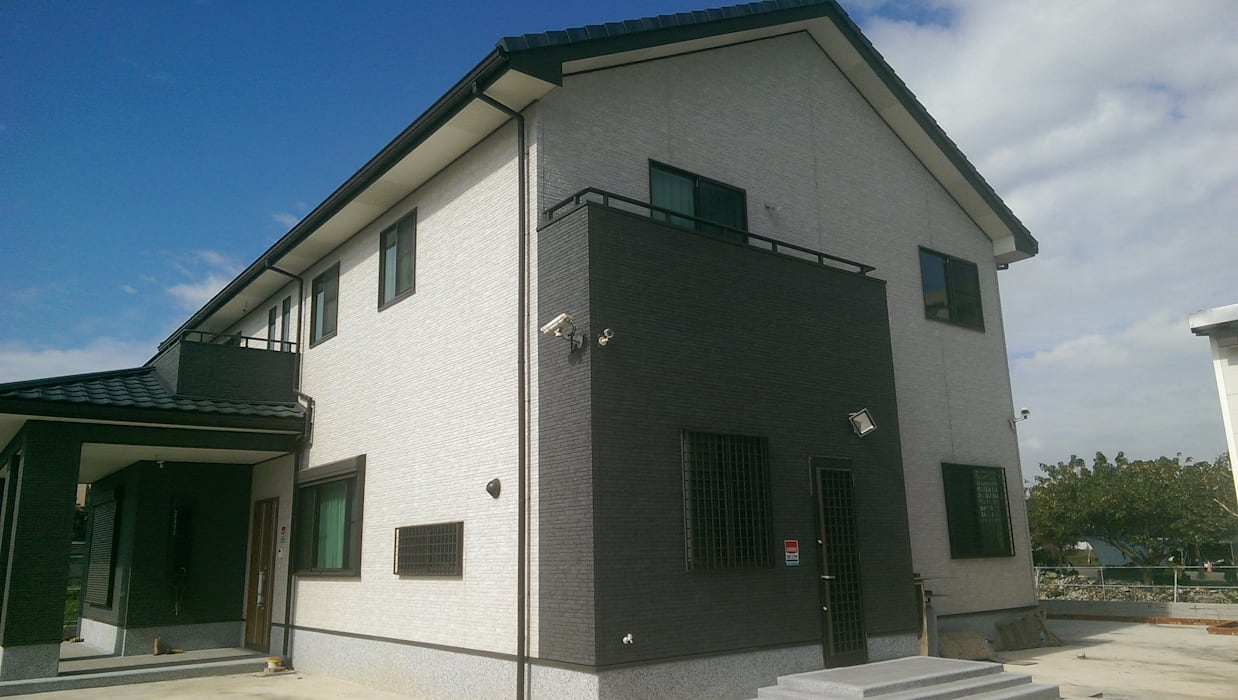 新日鐵耐震節能健康住宅綠建築 日本新日鐵台灣公司 房子 鐵/鋼 Grey