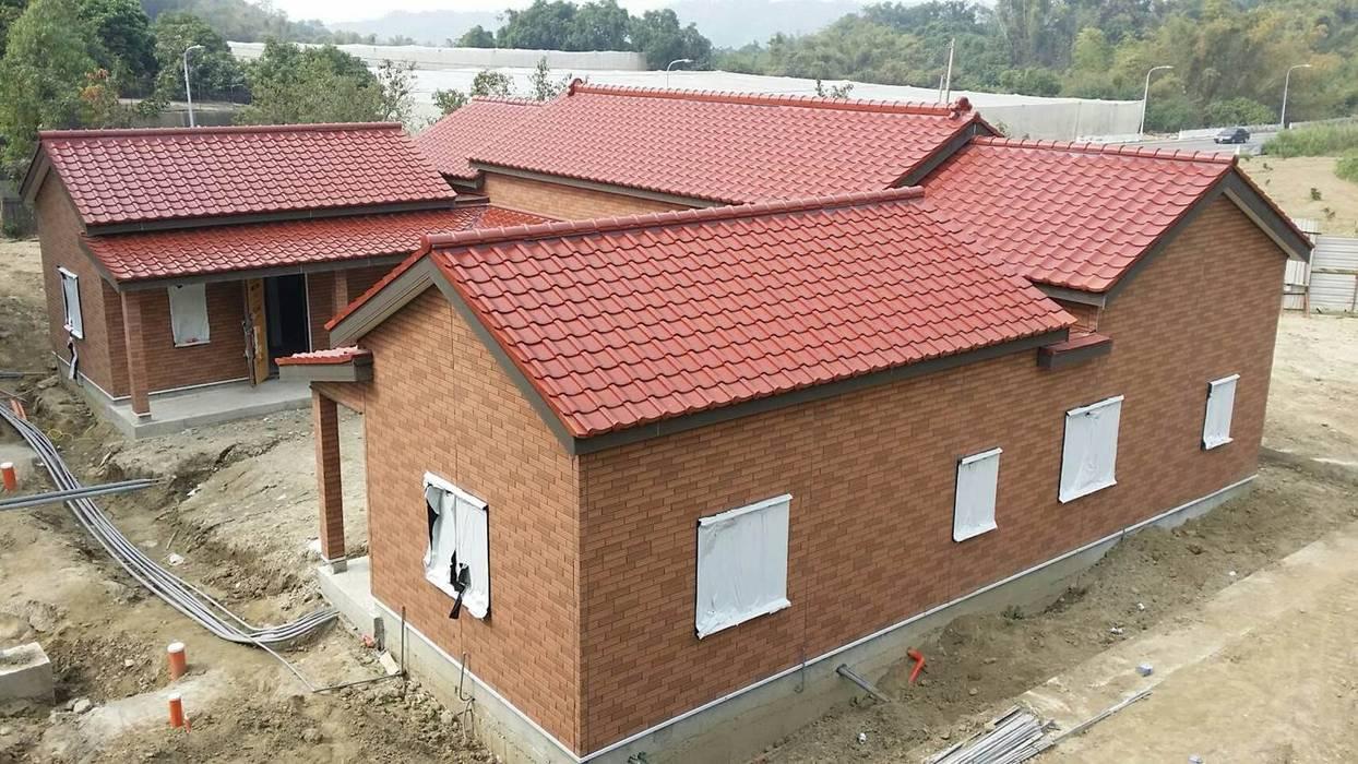 耐震節能健康住宅型綠建築在台灣實現 日本新日鐵台灣公司 房子 鐵/鋼 Multicolored
