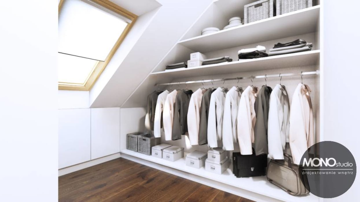 Modern dressing room by MONOstudio Modern
