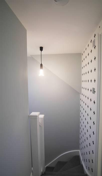 Twickenham Koridor & Tangga Modern Oleh Patience Designs Modern