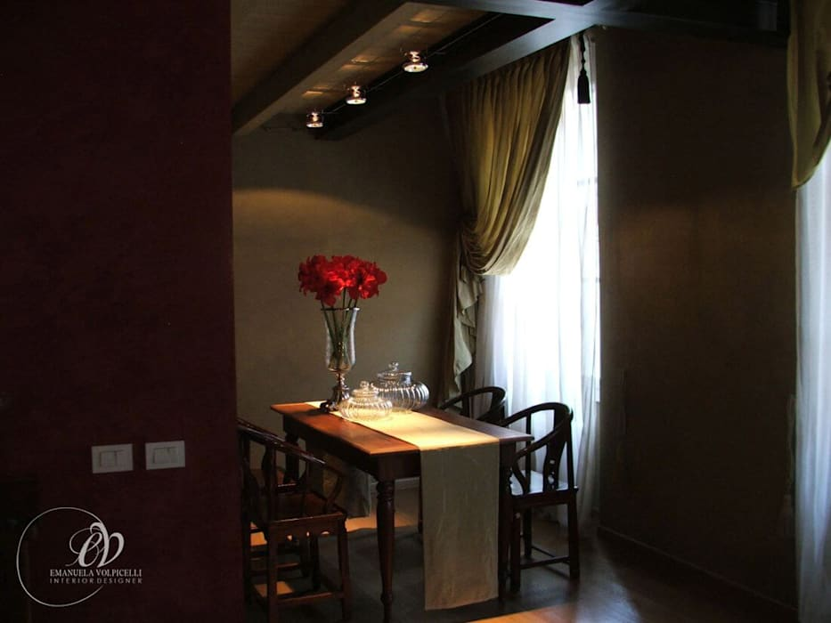 ARMONIE FUSION: Sala da pranzo in stile in stile Moderno di Emanuela Volpicelli Interior Designer
