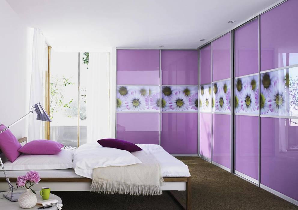Sliding Door Wardrobes, Fitted Bedroom wardrobes, Hinged Wardrobes, Walk In Closets Modern style bedroom by Bravo London Ltd Modern