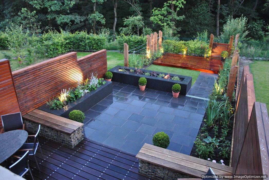 Beautiful garden design: modern Garden by Oxbow GLD