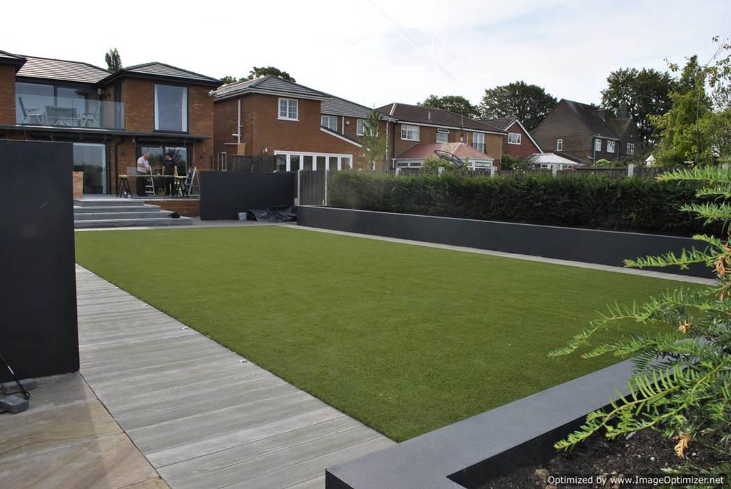 Long garden: modern Garden by Oxbow GLD
