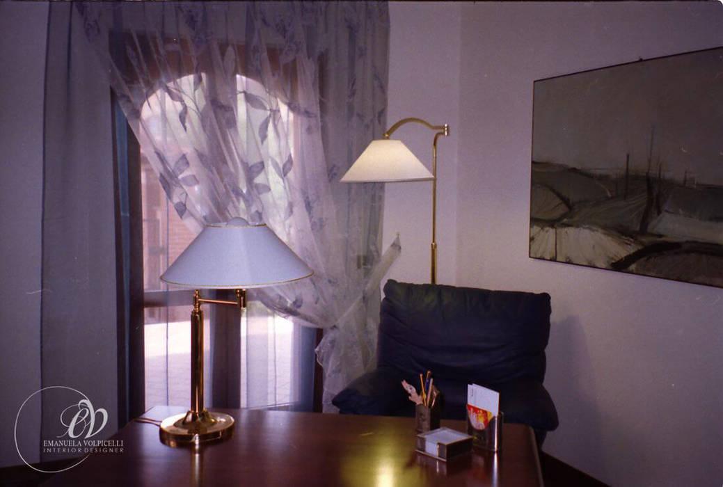 ATMOSFERE FASHION: Studio in stile in stile Moderno di Emanuela Volpicelli Interior Designer