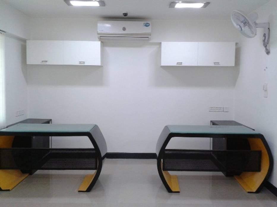Real Estate Office, Bhubaneswar Modern office buildings by Schaffen Amenities Private Limited Modern