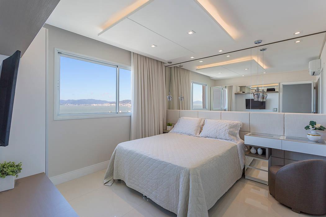 Modern style bedroom by Juliana Agner Arquitetura e Interiores Modern
