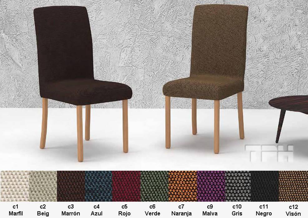 c75fb05649aa funda silla con respaldo Viena: Salones de estilo de TPH fundas de sofá