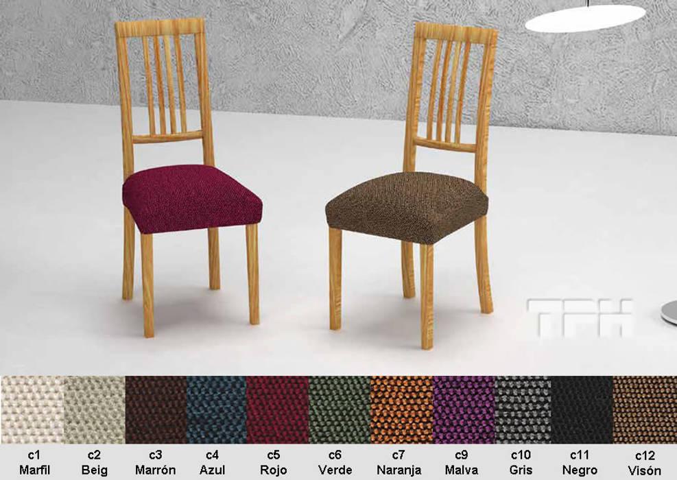 f195bc72b876 Fundas silla comedor viena: salones de estilo de tph fundas de sofá ...