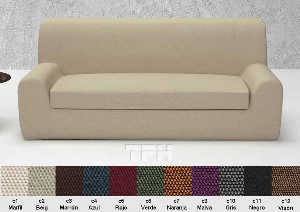 98317165db62 Funda sofá con cojín separado Viena: Salones de estilo de TPH fundas de sofá