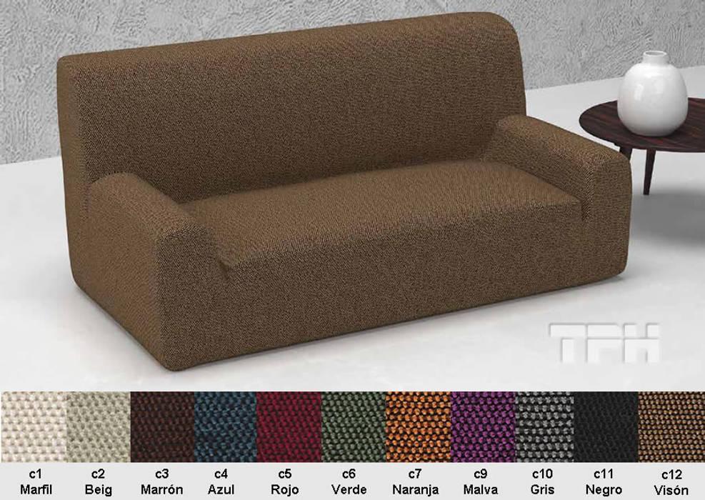 839112dbf6f7 Funda sofá viena: salones de estilo de tph fundas de sofá   homify