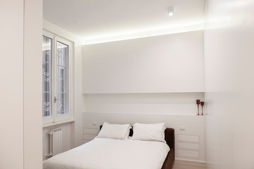 Dormitorios de estilo moderno de ArchEnjoy Studio Moderno