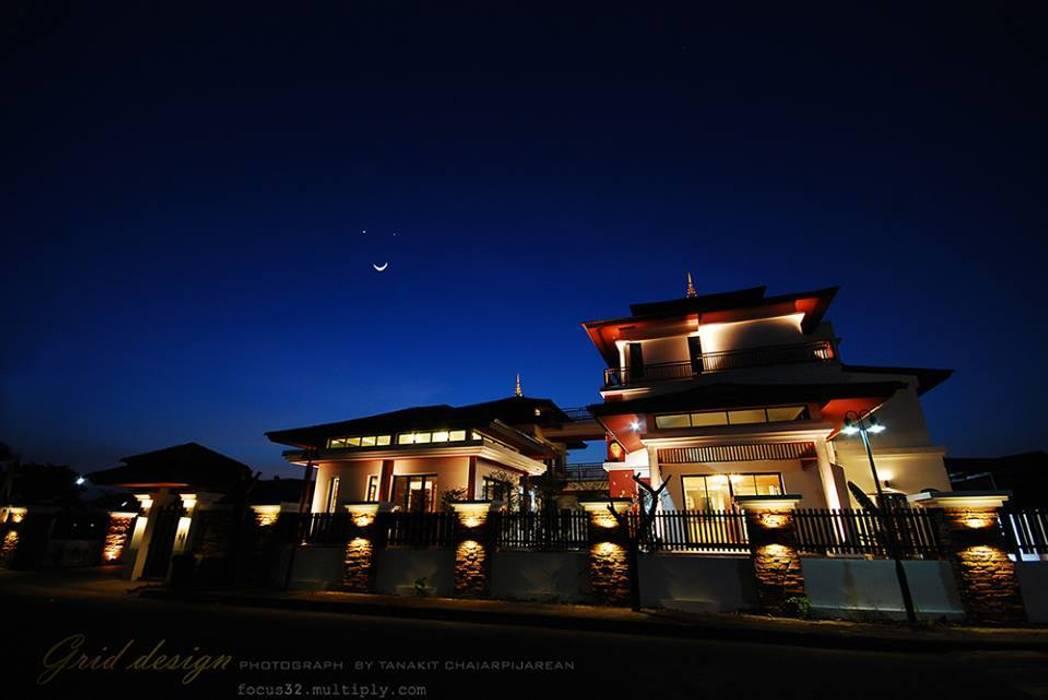 Tropical Style Location :Chanthaburi:  บ้านเดี่ยว by GRID ARCHITECT THAILAND