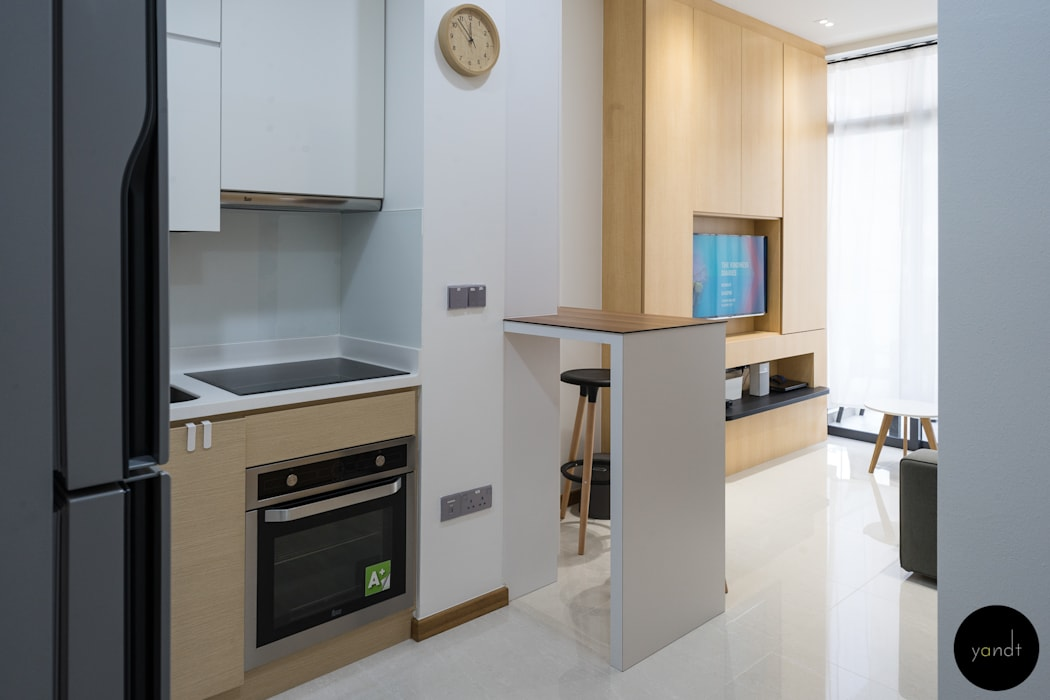Kitchen Scandinavian style kitchen by Y&T Pte Ltd Scandinavian