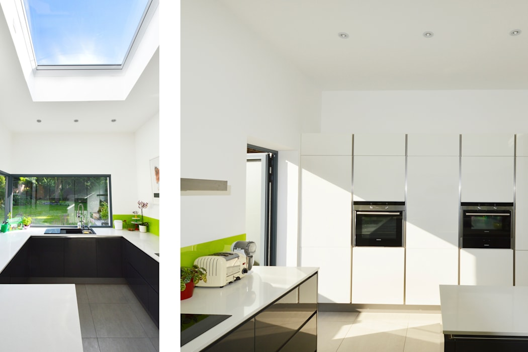 Kilburn, Brent NW2 | Garden flat extension: modern Kitchen by GOAStudio | London residential architecture