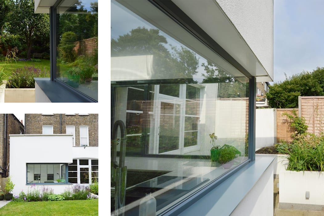 Kilburn, Brent NW2 | Garden flat extension: modern Houses by GOAStudio | London residential architecture