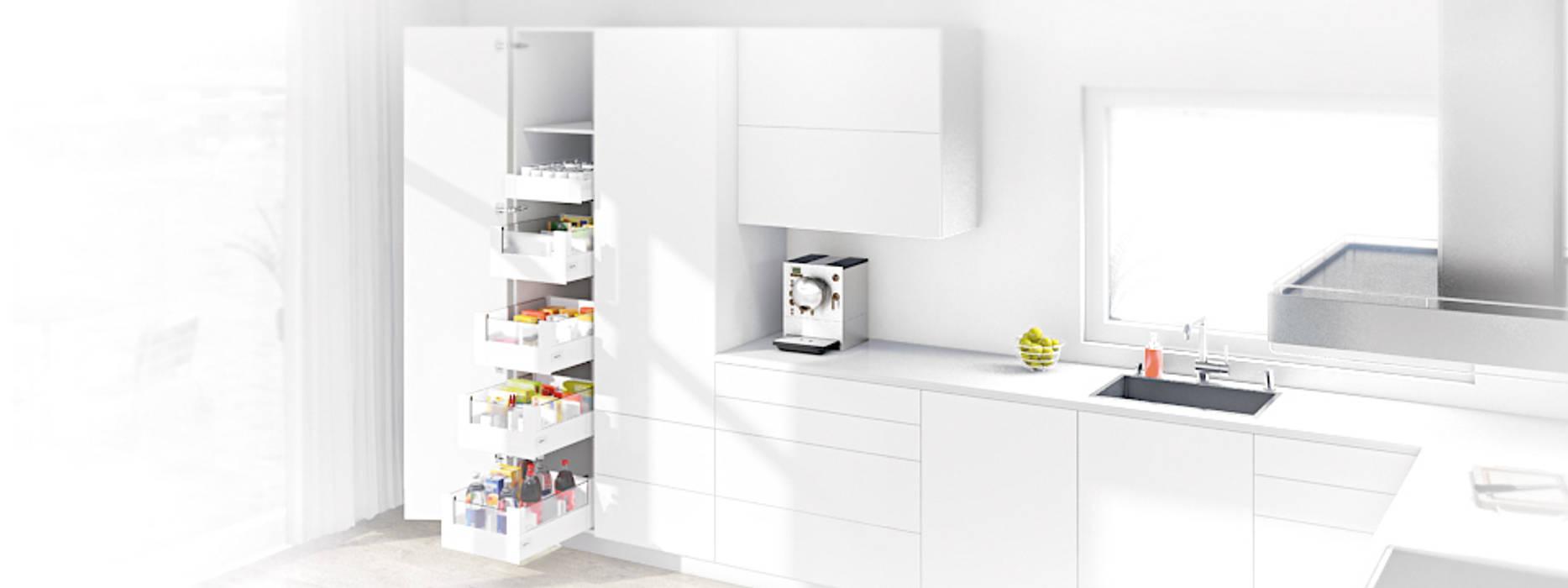Armoire à provision: Cuisine de style de style Moderne par MKL