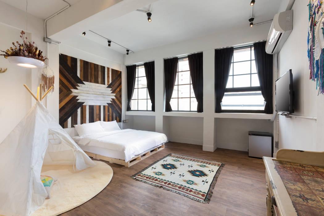 Skandinavische Hotels von 七輪空間設計 Skandinavisch