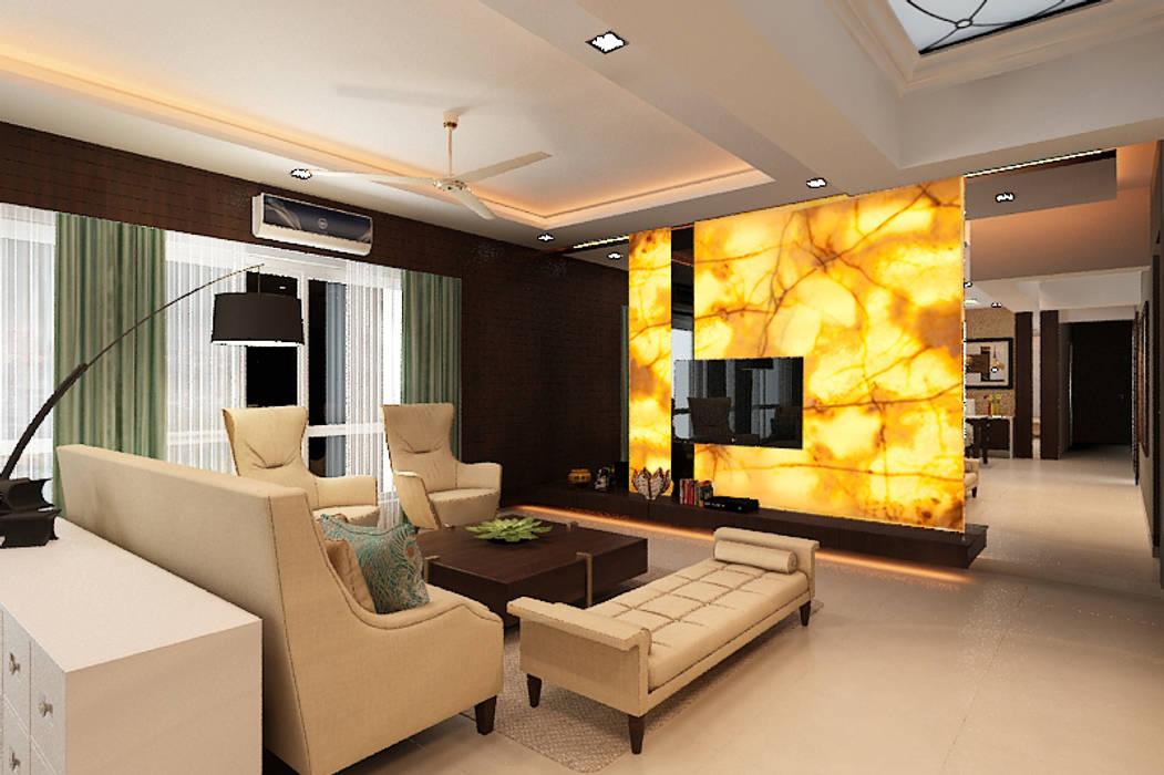 Klasik Oturma Odası homify Klasik Ahşap Ahşap rengi
