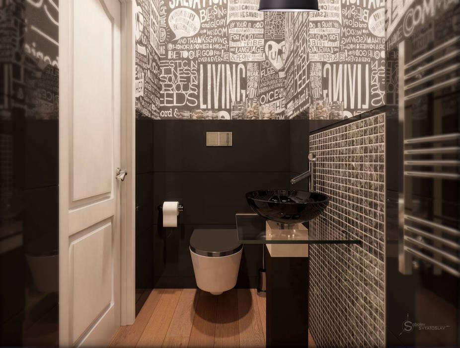 Bathroom Anastasia Yakovleva design studio Industrial style bathroom