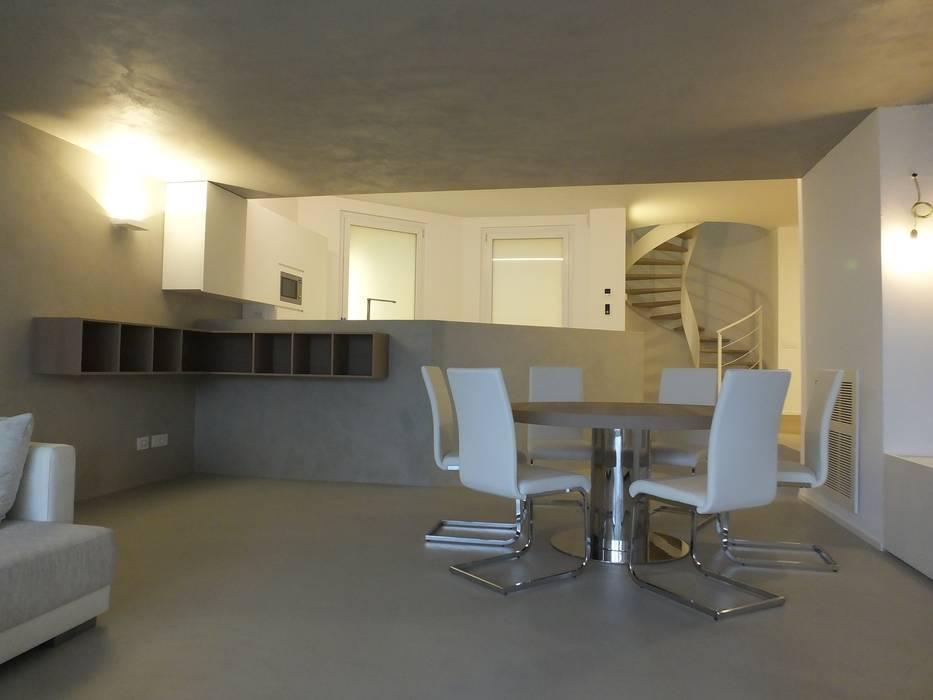 Taverna moderna cucina in stile in stile moderno di frigerio paolo c homify - Taverna di casa ...