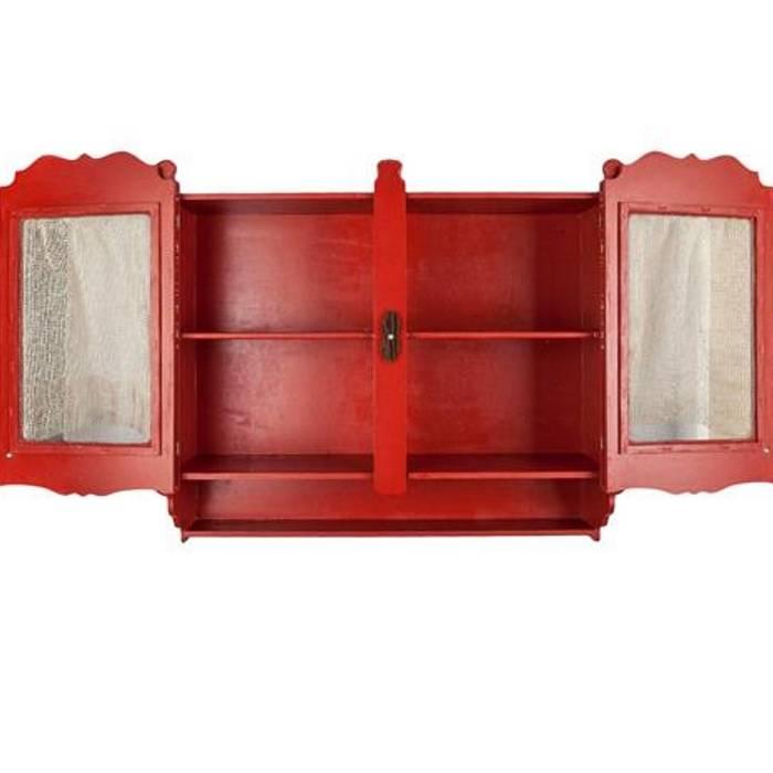 Orta Sofa CocinaArmarios y estanterías Madera Rojo