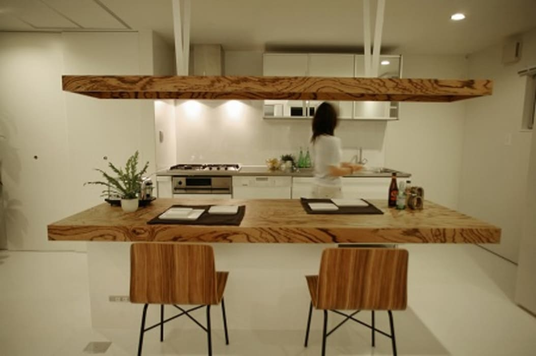 85inc. ห้องทานข้าวโต๊ะ ไม้ Wood effect