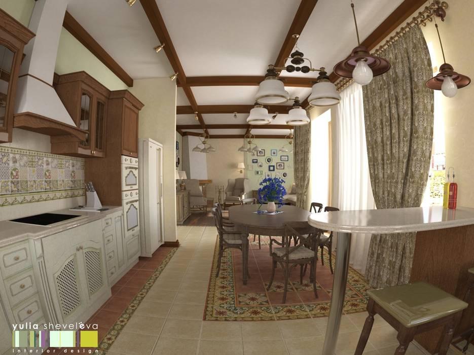 БОН ВОЯЖ Кухня в классическом стиле от Мастерская интерьера Юлии Шевелевой Классический