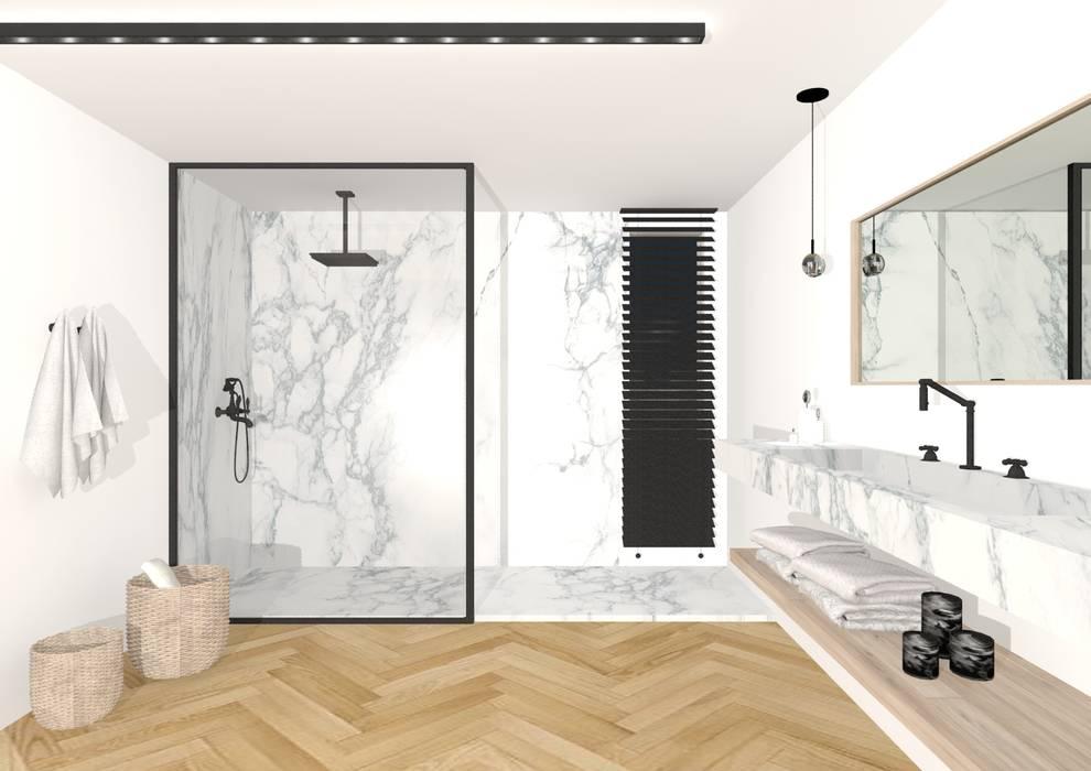 Salle de bain: Salle de bains de style  par Sacha Goutorbe | Architecte d'intérieur