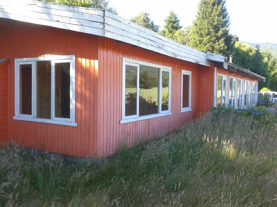 Casas de estilo  por homify , Rural Madera Acabado en madera