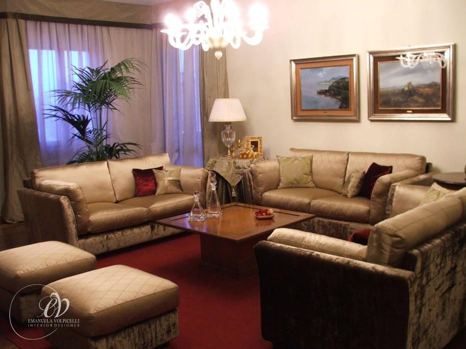 GALLERY: Soggiorno in stile in stile Moderno di Emanuela Volpicelli Interior Designer