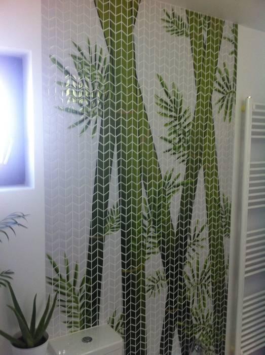 Salle de bains de style  par GEMANCO DESIGN SRL, Tropical Tuiles