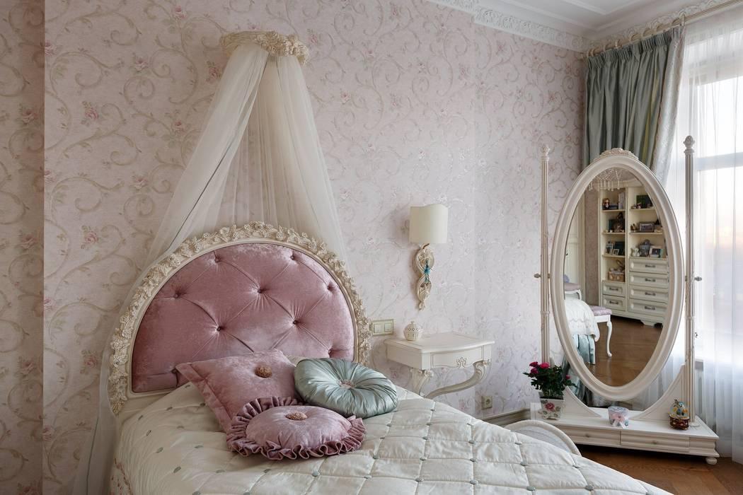 Klassische Schlafzimmer von Студия дизайна интерьера в Москве 'Юдин и Новиков' Klassisch
