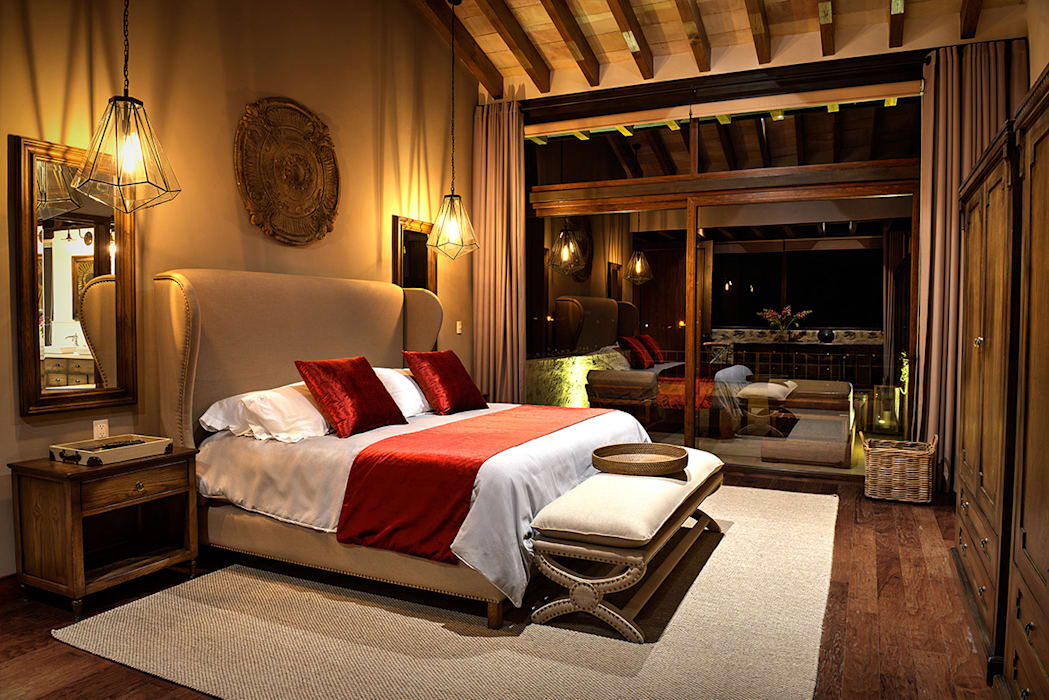Recámara Principal Dormitorios mediterráneos de INTERPRIKA Mediterráneo