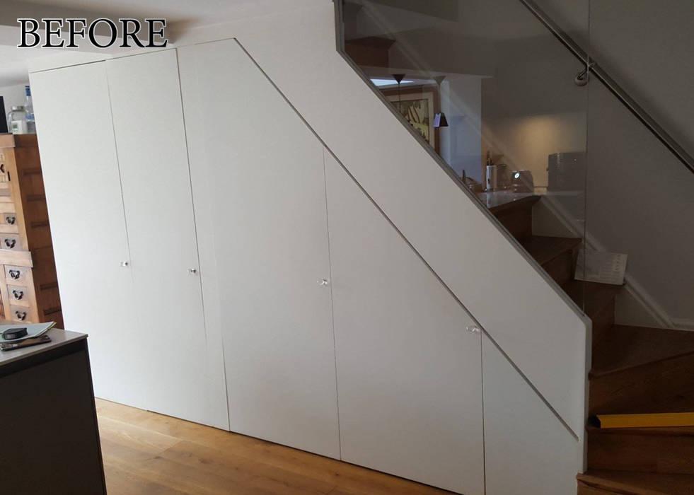 before remodelling.: modern Kitchen by Kleiderhaus ltd