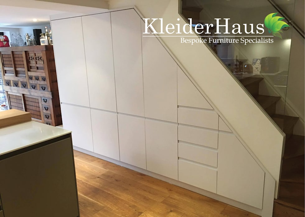 Kitchen Understairs unit - Finally project Completed by Kleiderhaus:  Kitchen by Kleiderhaus ltd