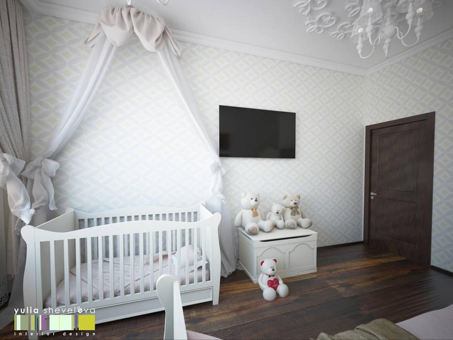 АРТ-ПРОСТРАНСТВО Мастерская интерьера Юлии Шевелевой Детские комната в эклектичном стиле