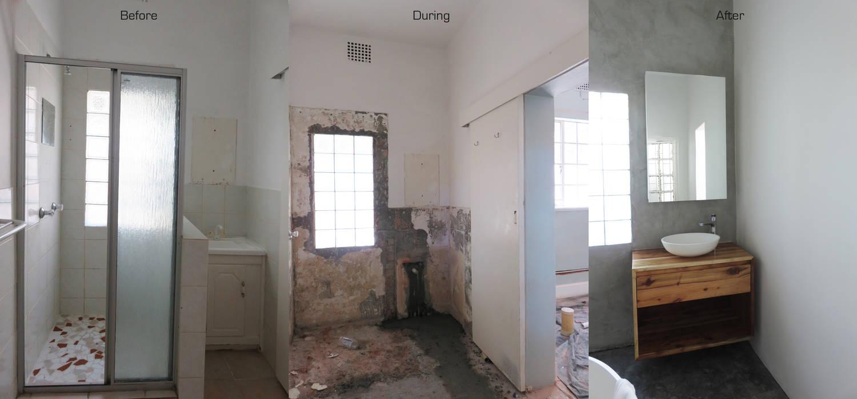 Main bathroom renovation modern bathroom by trait decor ...
