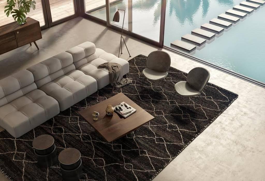 Villa Tendenza - Algarve : Salas de estar  por Tendenza -  Interiors & Architecture Studio