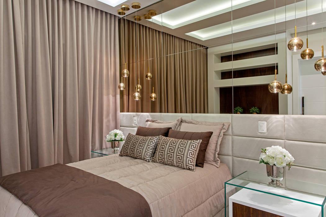 Kamar Tidur Modern Oleh Designer de Interiores e Paisagista Iara Kílaris Modern