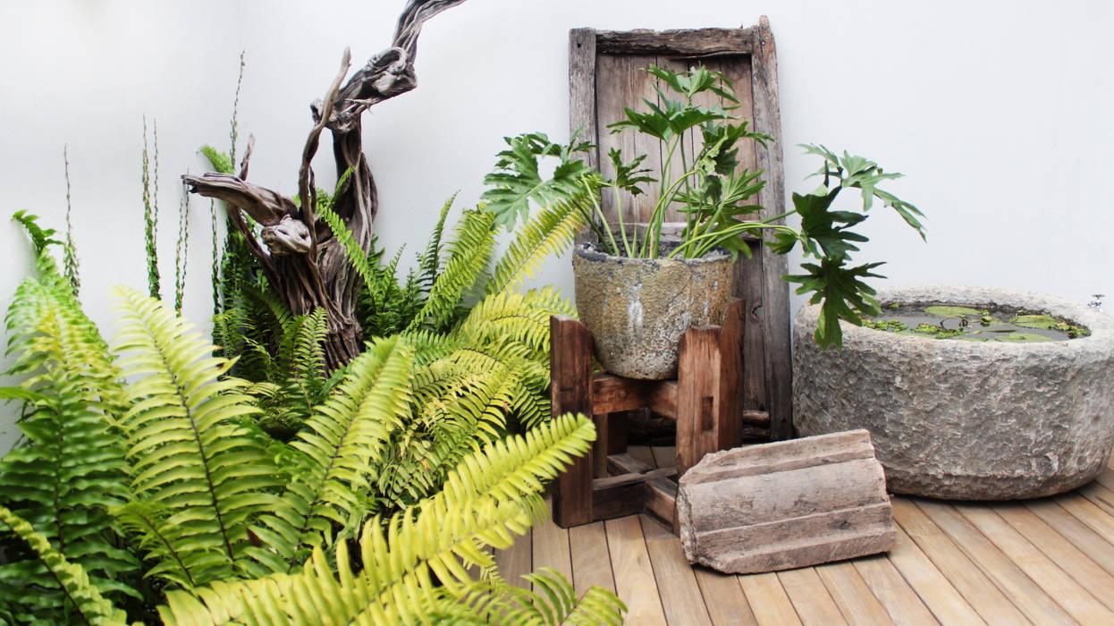 Rincon secreto jardines de estilo mediterraneo por - Como arreglar mi jardin con poco dinero ...