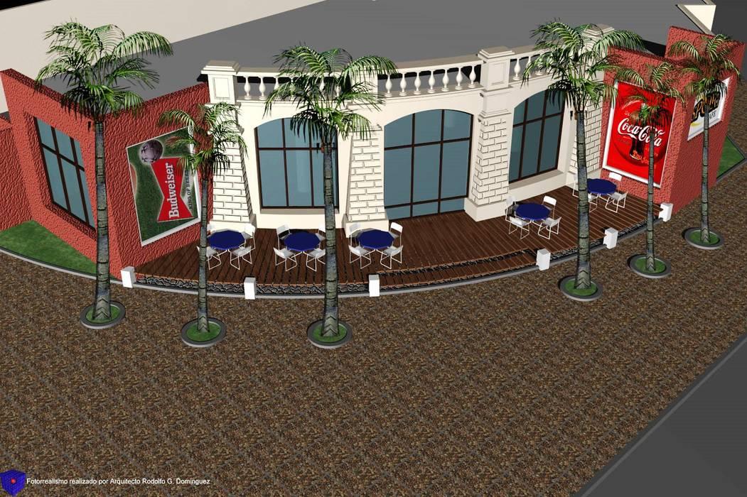 Bar Temático Deportivo Bares y clubs de estilo ecléctico de Valy Ecléctico Ladrillos