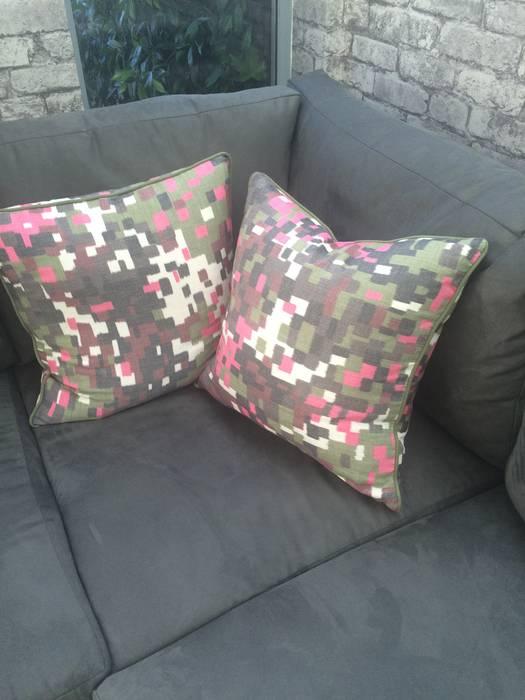 fleur ward interior design: modern tarz , Modern