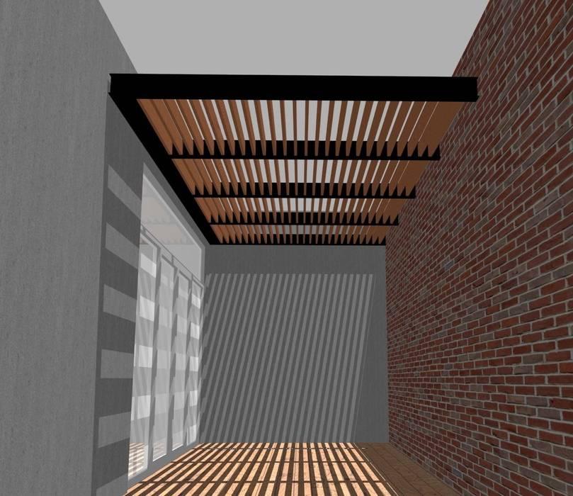 Síntesis Arquitectónica ® Modern Terrace Iron/Steel
