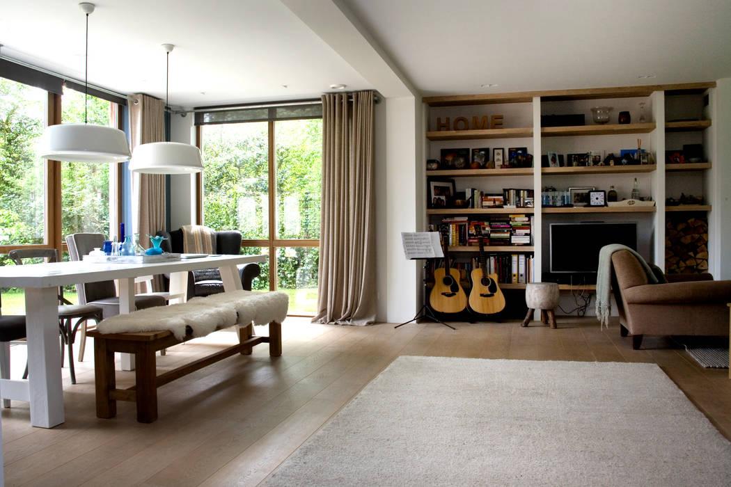 Modern Oturma Odası JE-ARCHITECTEN Modern