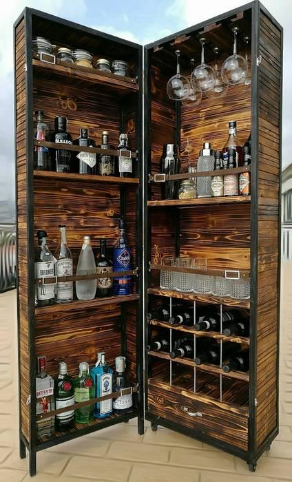 Mobile bar : soggiorno in stile di pgcreations | homify