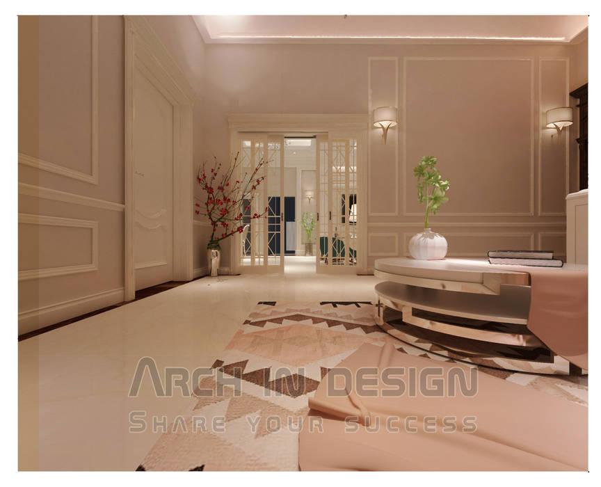 مدخل صاله من Arch In Design كلاسيكي